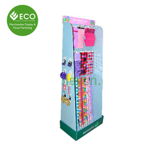 Hot Sale Cheap Price Cardboard Scarf Shop Display Stand Rack For Scarf Promotion