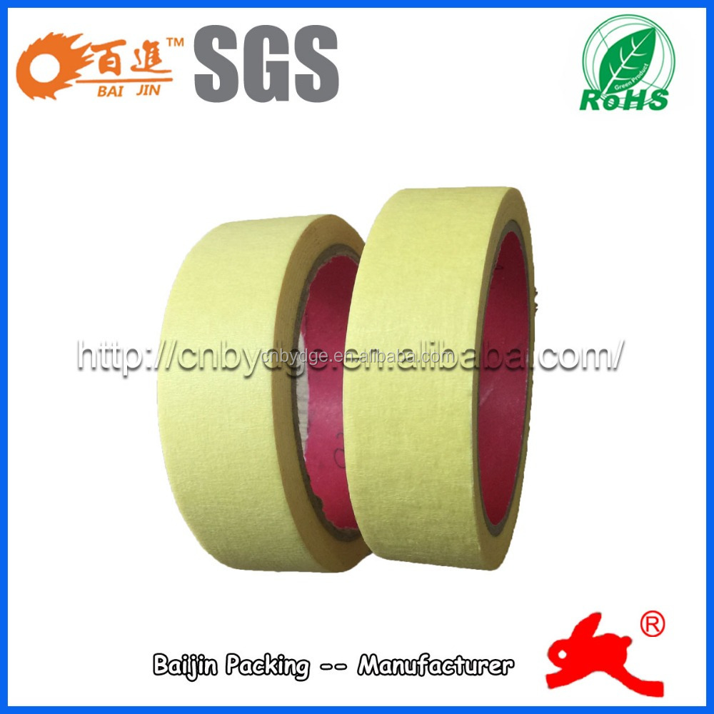 Automotive masking tape for car painting
