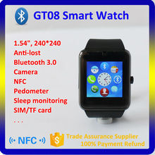 GT08 Smart Watch Clock Sync Notifier With Sim Card Bluetooth Connectivity for IOS iPhone Android Digital Watch