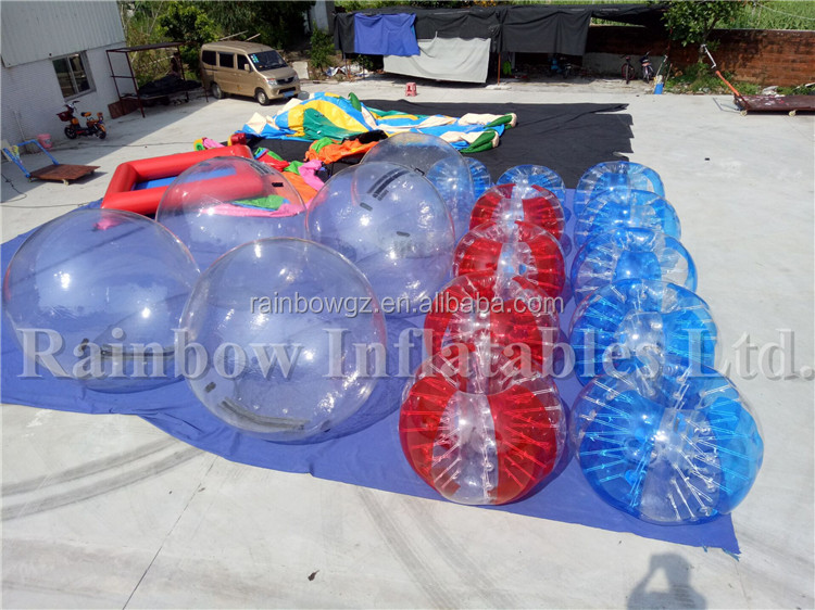 New Cheap Inflatable Soccer Bubble,Inflatable Body Bumper Ball,Inflatable Water Walking Ball