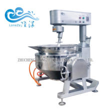 Automatic industrial cooker mixer / cooking kettle with agitator