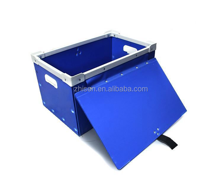 PP plastic corrugated hollow corflute turnover box supplier