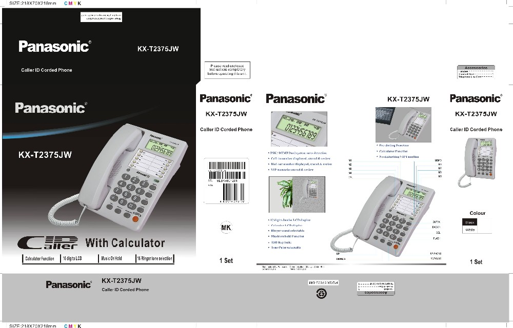 caller id telephone set
