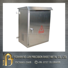 surface brush stainless steel mount electrical distribution box