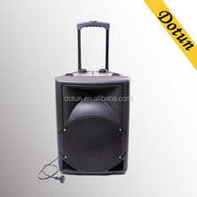 Active trolley speaker 15 inch portable bose speakers for home theater