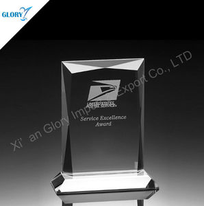 Engraved Blank Decorative Crystal London Souvenirs