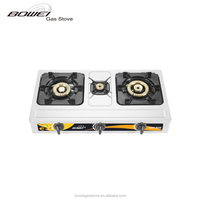 Small three burner integrated gas stove BW-3029