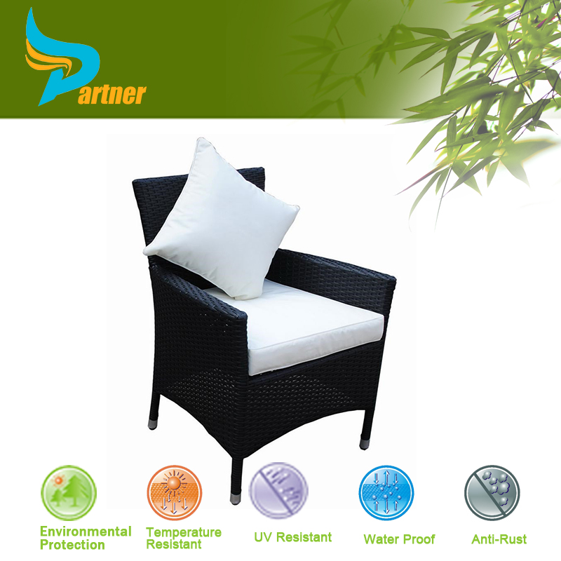 New Design Commercial Used Cube Outdoor Rattan Peacock Chair With Cushion