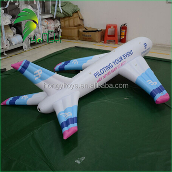 Custom Inflatable Advertising Plane Toys , PVC Plane Toys