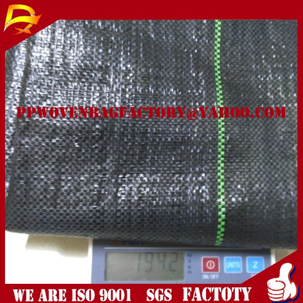 China Weedblock 1*100m Polyethylene Landscape Fabric Weed Mat