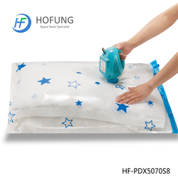 Home & Travelling Foldable Star Vacuum Storage Bags High Quality