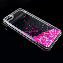 For iPhone 7 Case,soft back plastic PC+Tpu Crystal Clear color Phone Case