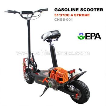 Gas scooter epa 4 stroke engine buy gas scooter gas for What is a motor scooter