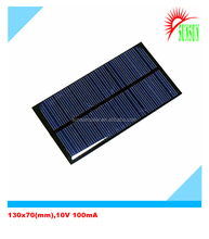 Fiber glass template epoxy solar panel 1 w
