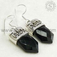 Gemstone earring, Handmade silver jewelry, sterling earrings