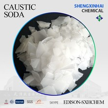 caustic soda flake 99% min alkali producer from China