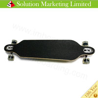 Free Shipping 41 complete Long skateboards 9 ply maple skateboard100% Canadian Maple /blank complete skateboard