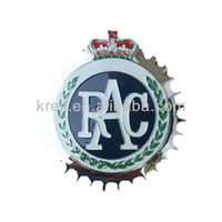 custom 2014 ROYAL AUTOMOBILE CLUB CAR GRILLE BADGE RAC