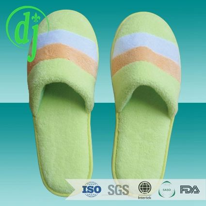 Yangzhou Jetway hotel slipper with embroidered customized logo