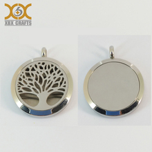 Custom antique silver metal coin holder pendant
