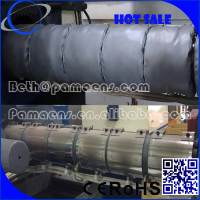 Fiberglass Blanket Insulation, Energy Saving Insulation for Injection, Extrusion, Blow Molding Machines