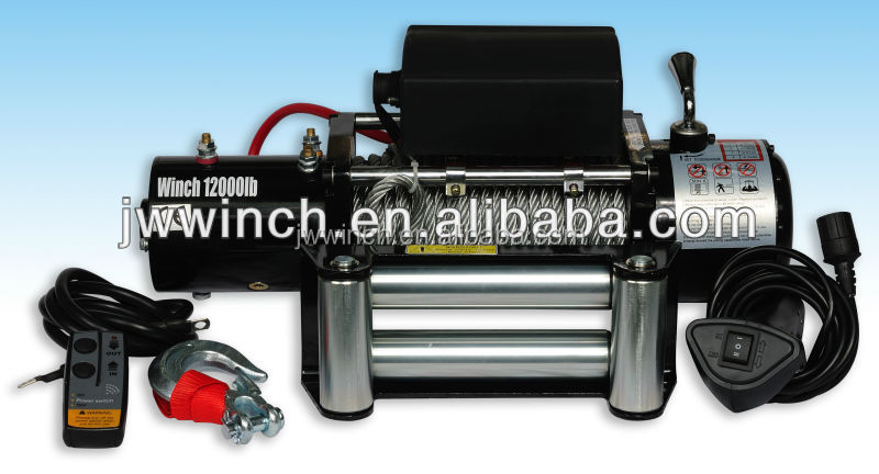 12000lb electric winch 12volt for Mitsubishi off road