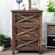 Factory Price Antique Wood Storage Cabinet Wooden Multi Drawer