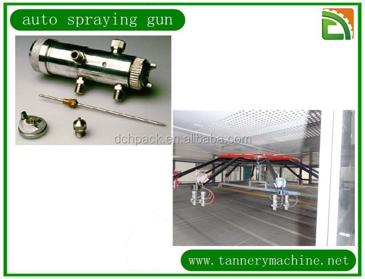 china manufacturer high quality leather spraying gun for tannery