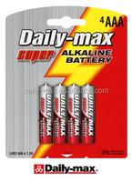 AM4 SIZE AAA LR03 4B Alkaline Battery