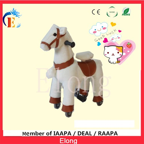 2016 best price kids walking mechanical horse riding toys for sale