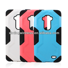 Robot Style Phone Cases For LG G Flex Hybrid silicone PC Case For LG G