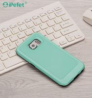 Mobile Phone accessories TPU + PC Hard Durable Tough Slim Armor Case for iPhone 6 6s & Plus