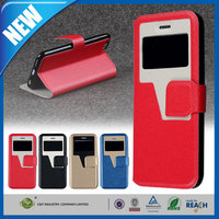 C&T wallet stand leather cover for iphone 5s,for mobile phone bags & case