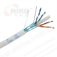 OWIRE High Speed CCA CU FTP 4 Pairs d-link Cat6 lan cable Belden Cat6 Cable Pass Fluke