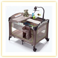 luxury foldable large baby playpen 2015 new style baby crib