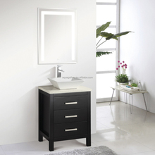24 Inch Thin Bathroom Vanity with LED Light Mirror