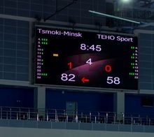 P4 Indoor LED Video Wall/ LED Scoreboard /LED Panel for Sports Field