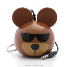 Wholesale Portable Mini Cartoon Speaker with Nice Sound