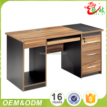 Foshan Hot Sale High Quality Latest Design Modern Wooden Office Computer Table