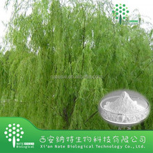 white willow bark extract 15%-98% salicin salix alba extract for cosmetic