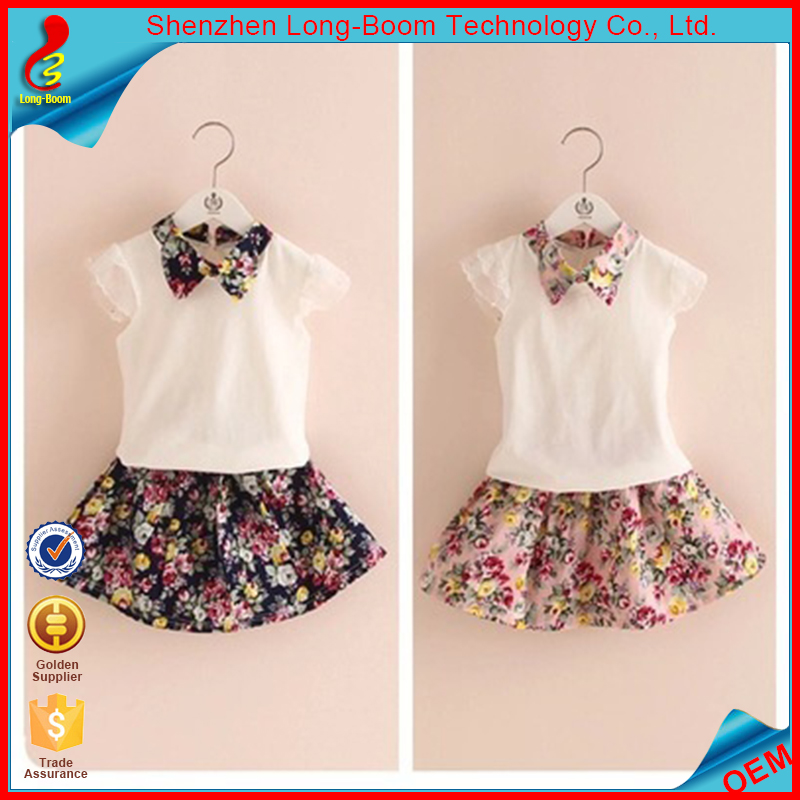 New fashion wholesale baby girl party dress children frocks designs