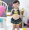 2016 New sports wear kids swimsuit models 2 pieces kids swimwear sexy bikinis baby girl swimsuits SW108