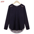 Plus size women clothing loose women blouse top