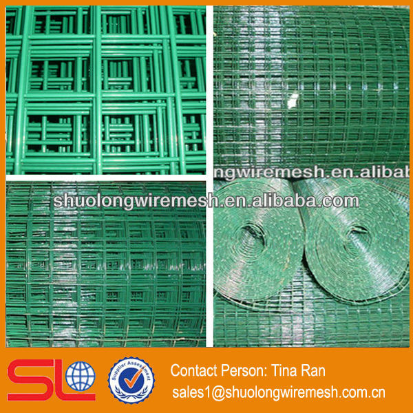 Hebei Shuolong pvc coated concrete wire mesh(roll and sheet)