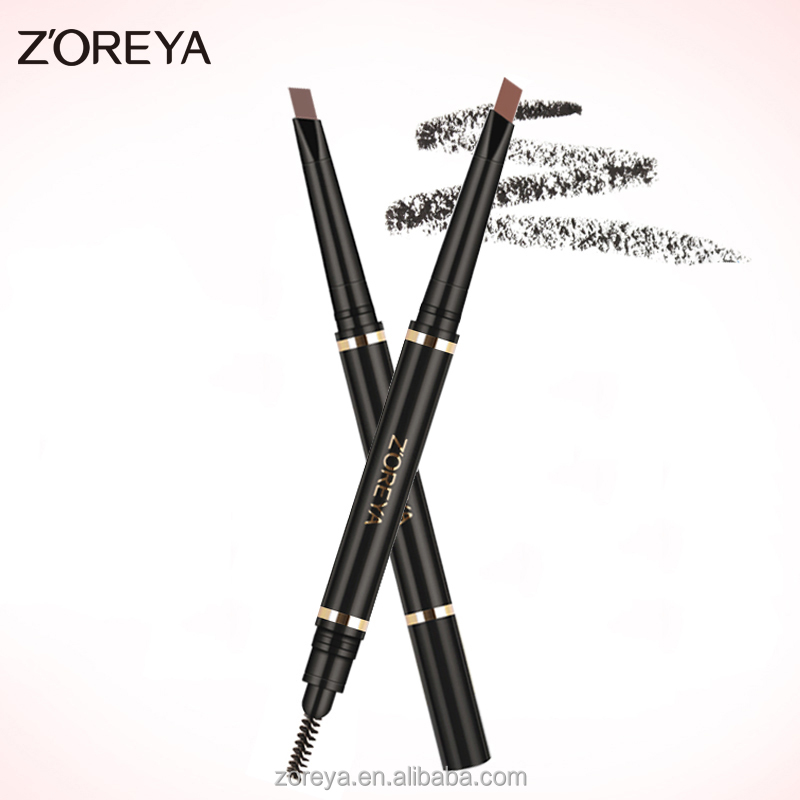2016 new design for Best wholesale Zoreya cosmetic kits Eyebrow pencil makeup brush