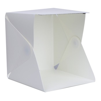 Trending product 2019 Portable 40cm foldable led photo studio accessories light box
