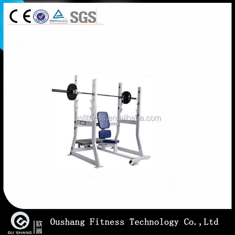 Oushang OS-H053 Hammer Strength Olympic Military Bench gym fitness equipment