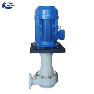 Vertical submersible centrifugal sewage water pump used for hydrochloric acid