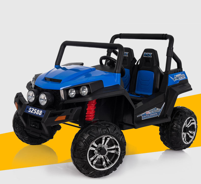 Hot Selling Polaris Jeep.24V Electric Car.Four Motor Drive Kids Jeep