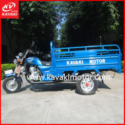 Top sale New Mode Tricycle 200cc Cargo motorcycle tricycle 175cc semi-cabin guangzhou 3wheel motorcycle factory